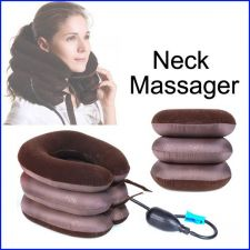 Buy ALI1 3-Layered Air-Inflated Cervical Vertebra Tractor Neck Massager NEW