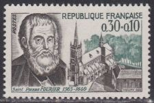Buy France Saint Pierre Fourier mnh 1966