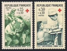 Buy France Red Cross mnh 1966