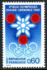 Buy France Winter Olympic Games mnh 1967