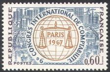 Buy France Accountancy Congress mnh 1967