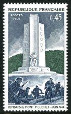Buy France Resistance Mont Mouchet mnh 1969