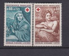 Buy France Red Cross mnh 1969