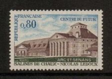 Buy France Royal Salt Springs - Chaux mnh 1970