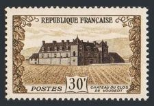 Buy France Chateau du Clos de Vougeot mnh 1951