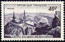 Buy France Pic Du Midi mnh 1951