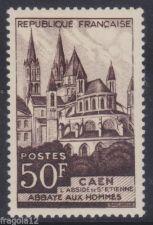 Buy France Abbaye Caen mnh 1951