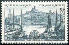 Buy France Landscapes Marseille mnh 1955