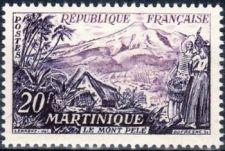 Buy France Landscape Le mont Pelé Martinique mnh 1955