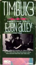 Buy VHS - Timbuk 3 - Greetings From Eden Alley Part One (1988, NTSC) - 9 Music Videos