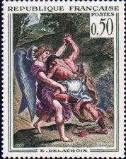 Buy France French Art Delacroix mnh 1963