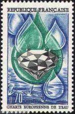 Buy France European Water Charter mnh 1969