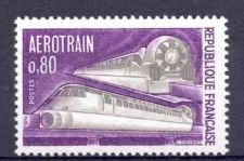 """Buy France First """"Hovertrain"""" In Service mnh 1970"""