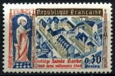 Buy France Saint Barbe College mnh 1960