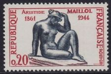 Buy France Aristide Maillol mnh 1961