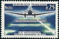 Buy France Night Airmail Service mnh 1964