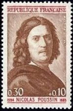 Buy France Nicolas Poussin mnh 1964
