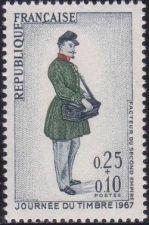 Buy France Stamp Day mnh 1967