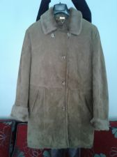 Buy Cristiano Di Thiene Leather coat Lined Coat Brown