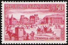 Buy France Anniversary of Deauville mnh 1961