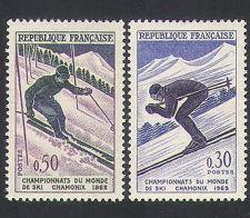 Buy France World Ski Championships mnh 1962
