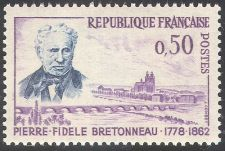 Buy France Dr. P. F. Bretonneau mnh 1962