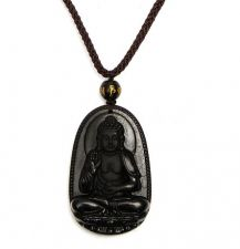 Buy buddha kwan yin luck necklace