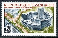 Buy France Radio and Television Center mnh 1963