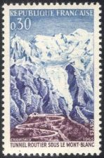 Buy France Mont Blanc Road Tunnel mnh 1965