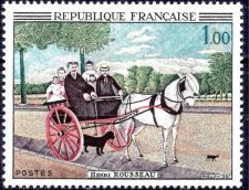 Buy France Painting Rousseau mnh 1967