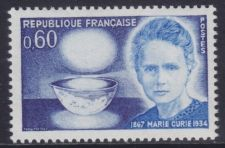 Buy France Marie Curie mnh 1967