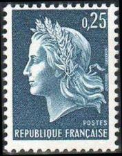 Buy France Marianne 0.25 mnh 1967