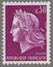Buy France Marianne 0.30 mnh 1967