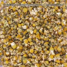 Buy GERMAN CHAMOMILE FLOWERS DRIED WHOLE ORGANICALLY GROWN EGYPT 2-10 OZ