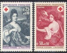 Buy France Red Cross mnh 1968