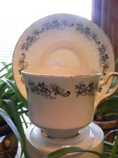 "Buy Tea Cup & Saucer: ""Royal Stafford"" Vintage English Fine Bone China"