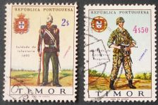 Buy Stamp Timor 1967 Military uniforms 2.00 & 4.50 Escudo