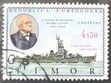 Buy Stamp Timor 1969 Personalities G. Coutinho (1869-1959) Naval Vessel 4.50 Escudo 1v