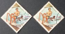 Buy Stamp Timor 1963 Sport 1.50 Escudo Pair