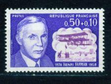 Buy France Aviator Henri Farman mnh 1971