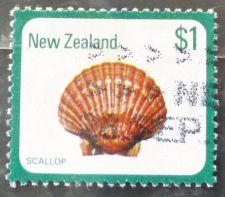 Buy Stamp New Zealand 1979 Definitive New Zealand Scallop (Pecten novaezealandiae) $1
