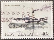Buy Stamp New Zealand 1984 Ferry Boat Waikana Otago Harbour 40c