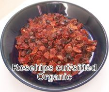 Buy ROSEHIP ROSE HIP ORGANICALLY GROWN SEEDLESS CUT/SIFTED 2 OZ - 1 LB RECLOSABLE BAG