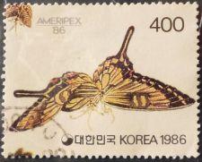 Buy Stamp South Korea 1986 Butterflies Butterflies Series: Ameripex ´86 400 won