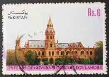 Buy Stamp Pakistan 1989 University 125th Anniv of Government College, Lahore 6 Rs