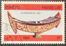 Buy Stamp Lao 1984 Musical Instruments Xylophon 2 kip