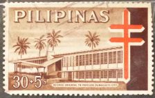 Buy Stamp Philippines 1964 Obligatory tax T.B. relief Negros oriental T.B. 50+ Sentimo