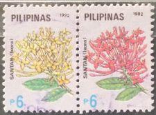 Buy Stamp Philippines 1991 Flowers Ixora 6 Piso Pair