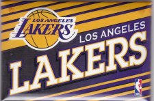 Buy Los Angeles Lakers NBA Champions 3 inch magnet