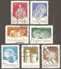 Buy Romania: Scott No. 3102-3108 (1982) Used Short Set